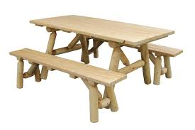 Wooden Outdoor Tables Wooden Outdoor Furniture Benches Amazing Natural Home Design
