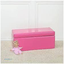 studio seine pink leather contemporary storage ottoman empire