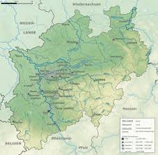 Aachen Germany Map by File North Rhine Westphalia Topographic Map 01 Jpg Wikimedia Commons