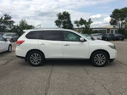 2017 nissan pathfinder pearl white used 2014 nissan pathfinder 7 passenger awd accident free only