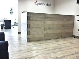 Metal Reception Desk Desk Innovative Could Match Wood Floor Trim Need To Add Misc