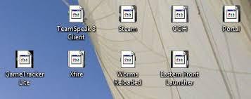 probleme icones w7 résolu windows 7