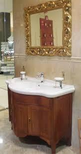arredo bagno outlet outlet mobile con lavabo e specchiera oro mario lepore