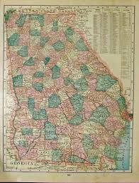 Map Of Savannah Ga Prints Old U0026 Rare Georgia Page