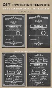 Chalkboard Wedding Invitations Check Out This Printable Diy Chalkboard Wedding Invitation