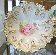 rs prussia bowl roses gorgeous antique r s prussia bowl pink poppies greens