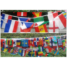 Olympic Games Decorations International Flags Decorations Home Decor 2017