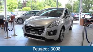 peugeot 3008 review peugeot 3008 2015 review youtube