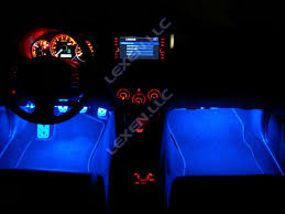 Car Led Interior Lights Blue 12