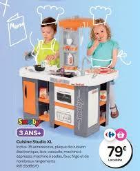 cuisine enfant carrefour carrefour promotion cuisine studio xl smoby cuisines jouets