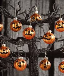 bethany lowe jack o lantern pumpkin mini glass ornaments