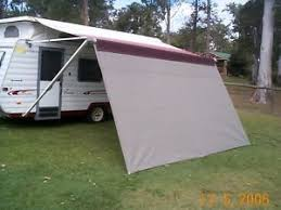 Roll Out Awnings For Campers Shade Curtain Privacy Screen For Caravan Roll Out Awning 2 1x6 0m