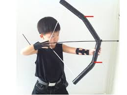 bow and arrow halloween costume homemade hawkeye costume simply lambchops