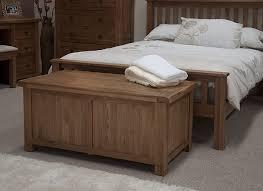 bedroom furniture blanket storage box as bench seat beside