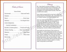 Templates For Funeral Program Funeral Obituary Template Funeral Program Template Free Download