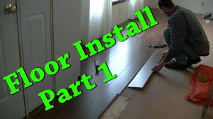 Carpeting Over Laminate Flooring New Floor Install Carpet Removal Laminate Install Part 1 Of 2