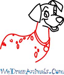 draw pongo 101 dalmatians