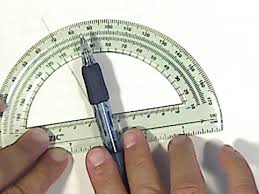 how to use a protractor youtube
