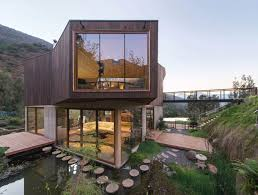 Small Eco Houses Maqui House By Gitc Arquitectura In Quebrada El Maqui Chile