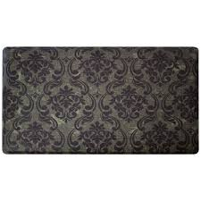 Damask Kitchen Rug Chef Gear Kitchen Rugs U0026 Mats Mats The Home Depot