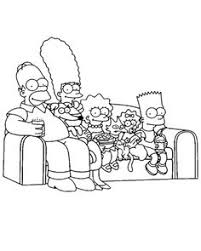 simpson coloring pages coloring to print famous characters the simpsons number 294975