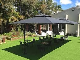 Restaurant Patio Umbrellas Printed Patio Umbrellas Porch And Garden The Tried