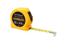measuring layout tools walmart com komelon the professional metric tape measure