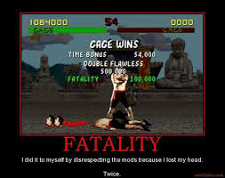 Challenge Fatality Fatality Demotivational Poster Page
