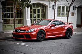 car mercedes red brianzuk spots an absolutely stunning red mercedes sl65 amg black