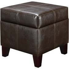 better homes and gardens faux leather storage ottoman multiple
