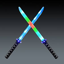 Led Light Halloween Costume Amazon Joyin Toy 2 Deluxe Ninja Led Light Swords