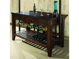kitchen islands with wine racks intercon kona culinary kitchen island with wine storage hudson u0027s
