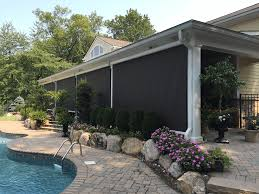 retractable awnings and exterior screens ke durasol awnings