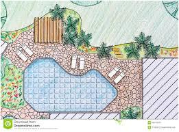 backyards wondrous landscape architect design backyard plan for