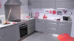 meuble cuisine leroy merlin blanc stunning cuisine grise et blanc leroy merlin pictures design