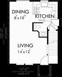 small duplex floor plans main floor plan for d 553 duplex house plans small duplex house