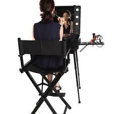 makeup chairs for professional makeup artists aliexpress buy black pink rolling studio makeup artist