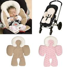 Bolster Cushion Pad Newborn Baby Infant Safety Car Seat Stroller Reversible Soft