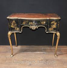 antique ladies writing desk antique english chinoiserie ladies writing desk table 1900