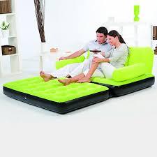 canapé lit gonflable canapé lit gonflable 4 en 1 vert pompe incluse maison futée