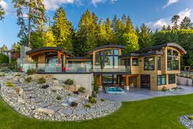 Efficient Home Designs by Energy Efficient Luxury Ocean View Home On Vancouver Island