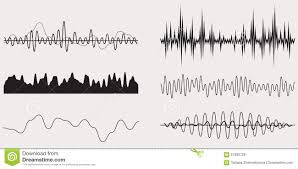 Sound Wave by Audio Music Sound Wave Vector Set Stock Vector Image 57693729