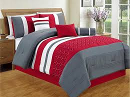 Black And Red Comforter Sets King Beddings Land Beddings Land