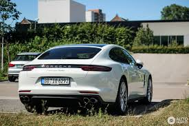 porsche sedan white porsche 971 panamera turbo 10 july 2016 autogespot