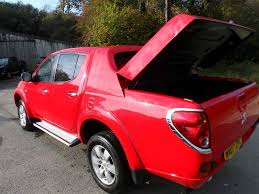 2007 mitsubishi l200 animal 84 000 miles with full history red