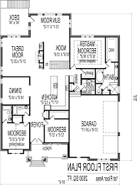 Open Floor Plans Ranch by Home Design 4 Best Ranch Open Floor Plan House Plans Unique