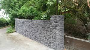 garden walls stone stone effect garden wall and front house deco stones