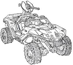 halo 4 warthog halo coloring pages getcoloringpages com