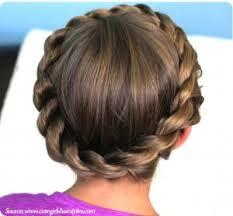 gymnastics picture hair style gymnastics hairstyles crown twist braided updo fun hair styles