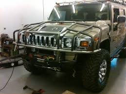 New Hummer H2 New Product Rubberduck4x4 H2 Brush Guard Hummer Forums